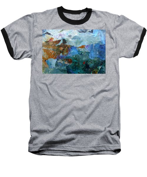 Baseball T-Shirt featuring the painting Dreamland by Mary Sullivan