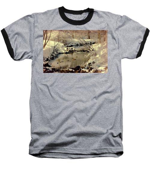 Dreams Come To Light Baseball T-Shirt