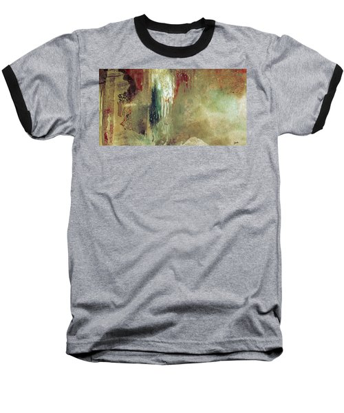 Dreams Come True - Earth Tone Art - Contemporary Pastel Color Abstract Painting Baseball T-Shirt