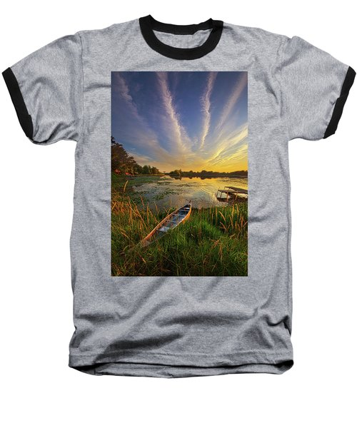 Baseball T-Shirt featuring the photograph Dreams Of Dusk by Phil Koch