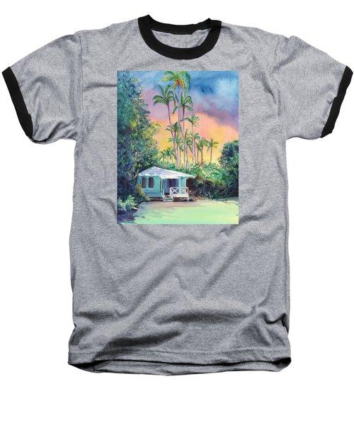 Dreams Of Kauai Baseball T-Shirt by Marionette Taboniar