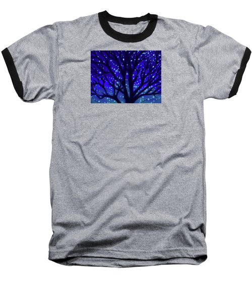 Baseball T-Shirt featuring the painting Dreams Of Needham by Jean Pacheco Ravinski