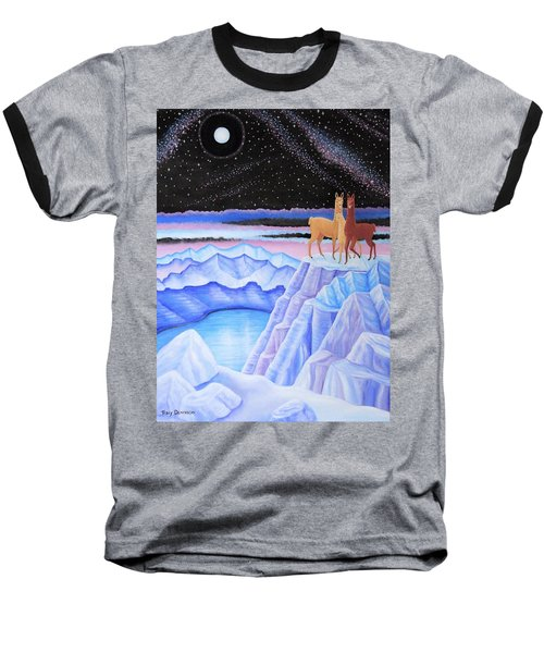 Dreamscape Baseball T-Shirt by Tracy Dennison