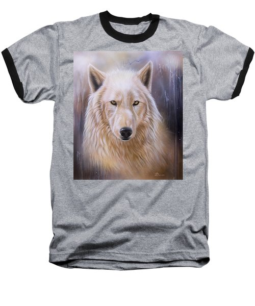 Dreamscape Wolf IIi Baseball T-Shirt