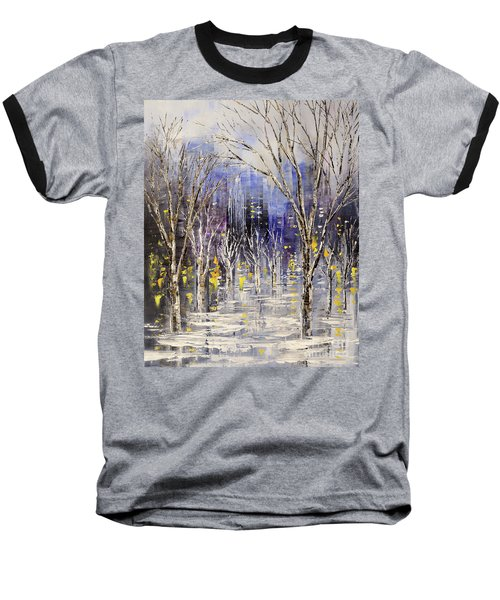 Dreamt Of Driving Baseball T-Shirt by Tatiana Iliina