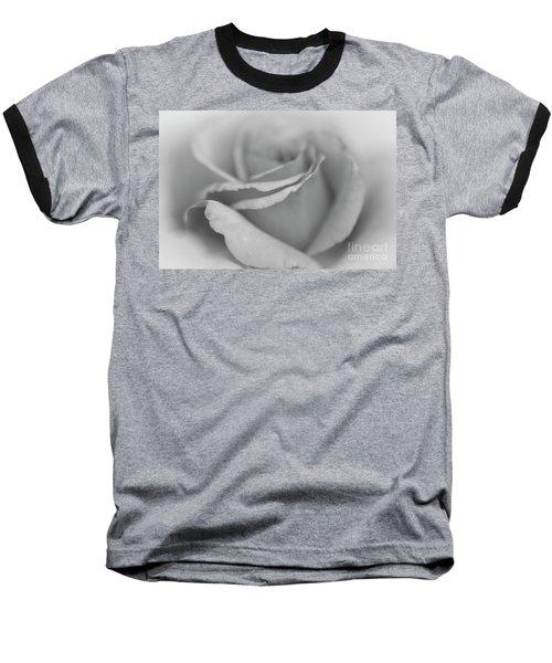 Dreamy Bw Baseball T-Shirt by Judy Wolinsky
