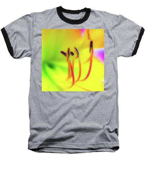 Dreamy Daylily Baseball T-Shirt