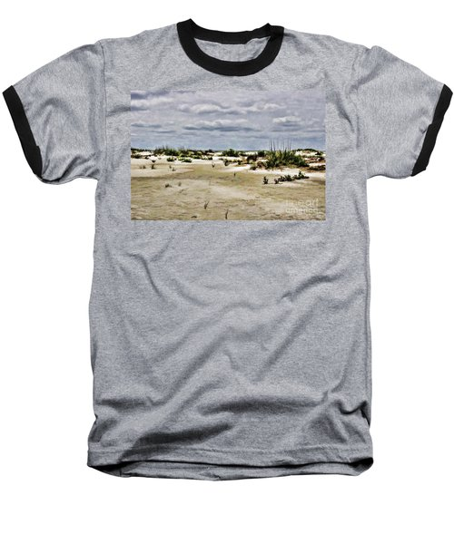 Dreamy Dunes Baseball T-Shirt by Roberta Byram