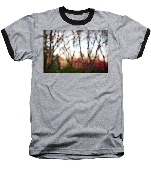 Baseball T-Shirt featuring the photograph Dreamy Fall Colors by Susan Stone