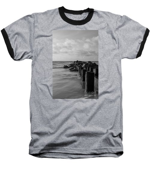 Dreamy Jettie Grayscale Baseball T-Shirt