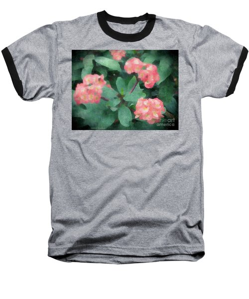 Dreamy Pink Baseball T-Shirt