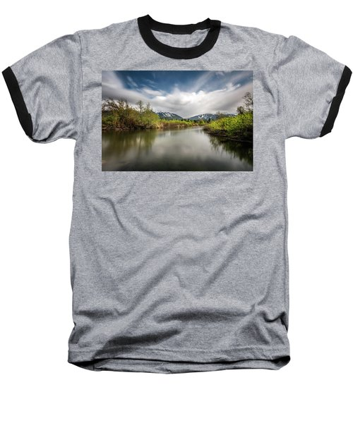 Baseball T-Shirt featuring the photograph Dreamy River Of Golden Dreams by Pierre Leclerc Photography