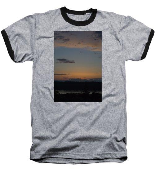 Dreamy Sunset Baseball T-Shirt by John Rossman