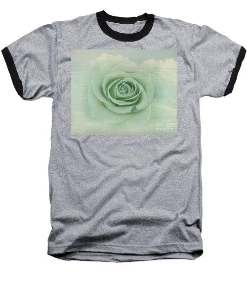 Dreamy Vintage Floating Rose Baseball T-Shirt