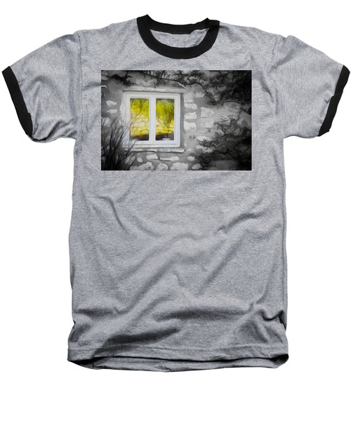Dreamy Window Baseball T-Shirt