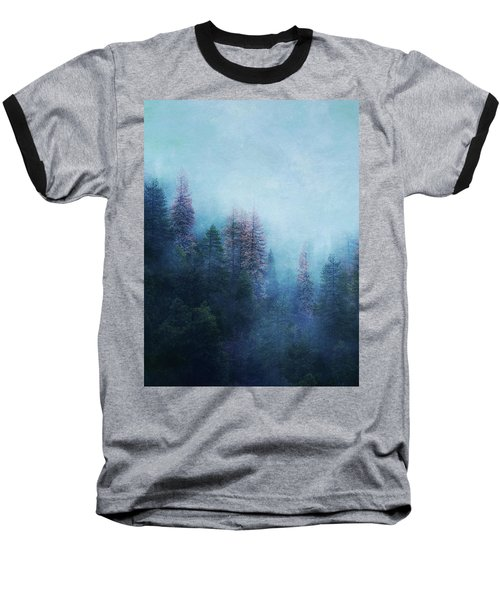 Dreamy Winter Forest Baseball T-Shirt