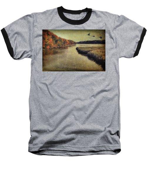 Dreary Autumn Baseball T-Shirt
