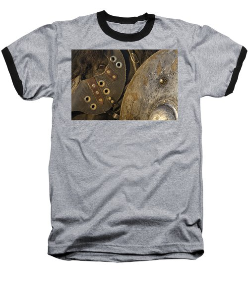 Dressed For Battle Baseball T-Shirt by Wes and Dotty Weber