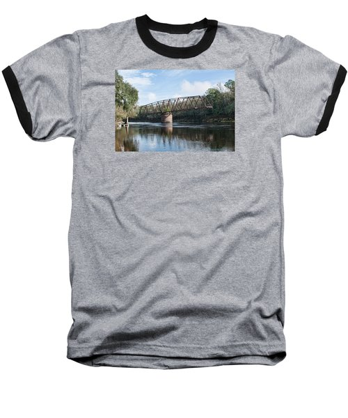 Drew Bridge Baseball T-Shirt by John Black