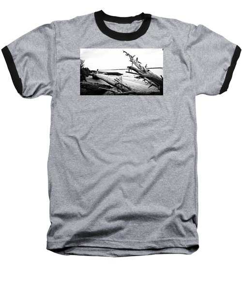 Baseball T-Shirt featuring the painting Drift  by Amy Sorrell