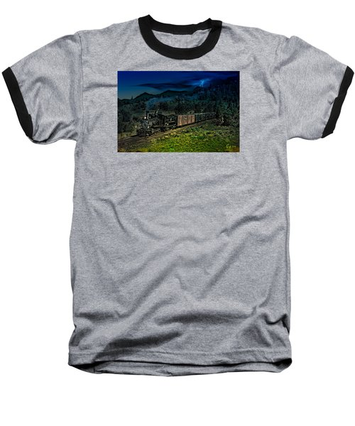 Drifting Down To Antonitio Baseball T-Shirt by J Griff Griffin