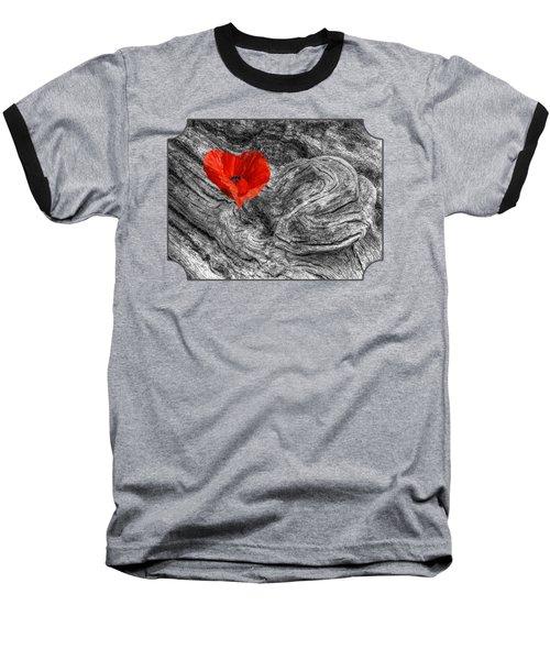 Drifting - Love Merging Baseball T-Shirt by Gill Billington