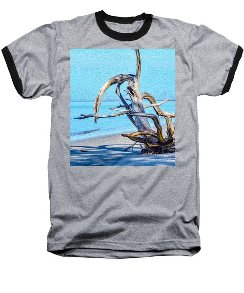 Driftwood On Jekyll Baseball T-Shirt