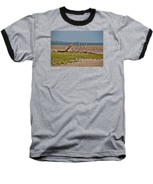Driftwood With Baracles Baseball T-Shirt by John Black