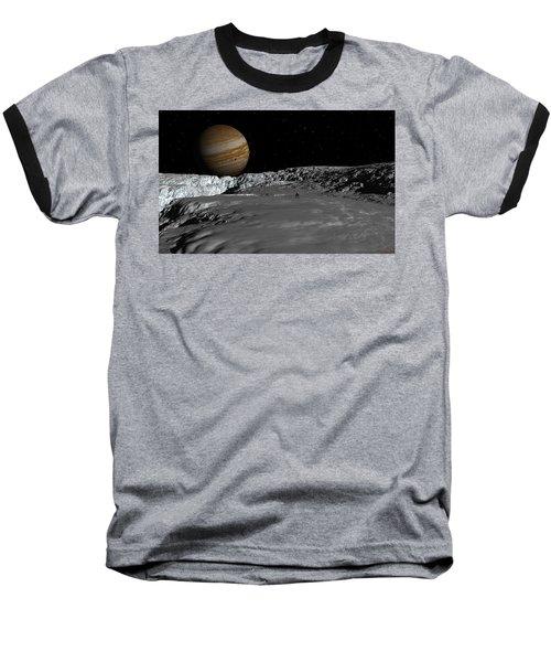 Drilling On Europa Baseball T-Shirt