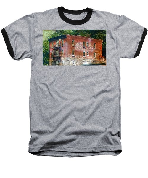 Drink Coca Cola Ghost Sign Baseball T-Shirt