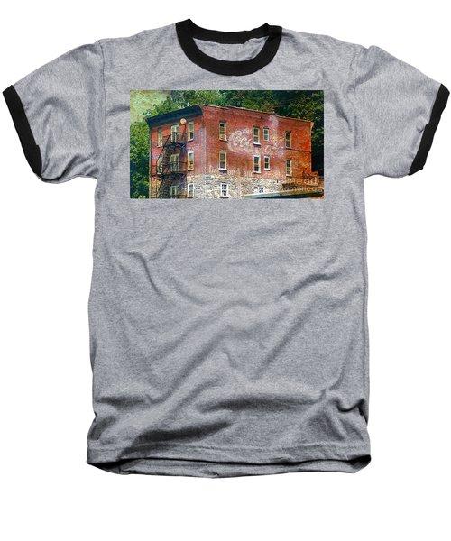 Drink Coca Cola Ghost Sign Baseball T-Shirt