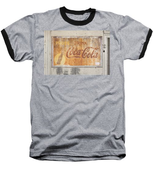 Baseball T-Shirt featuring the photograph Drink Coca Cola by Mark Greenberg
