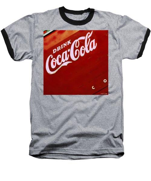 Drink Coke Baseball T-Shirt