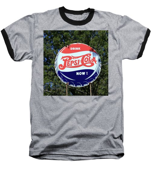 Drink Pepsi - Cola Now  Baseball T-Shirt