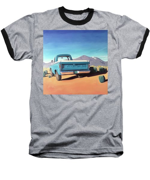 Drive Through The Sagebrush Baseball T-Shirt