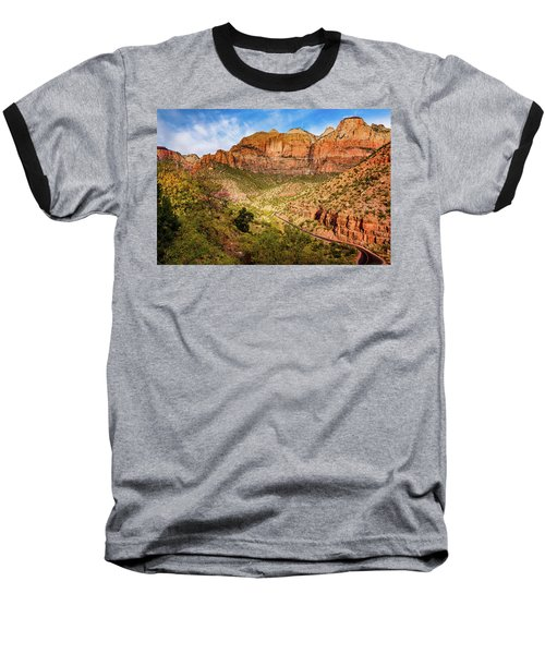 Driving Into Zion Baseball T-Shirt