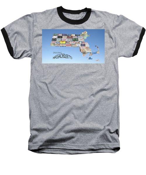 Driving Massachusetts Baseball T-Shirt by Jewels Blake Hamrick