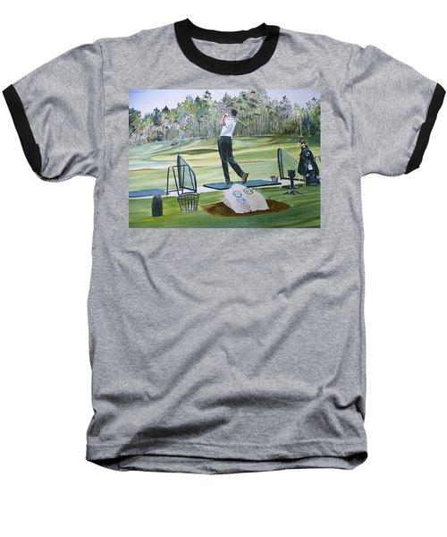 Driving Pine Hills Baseball T-Shirt