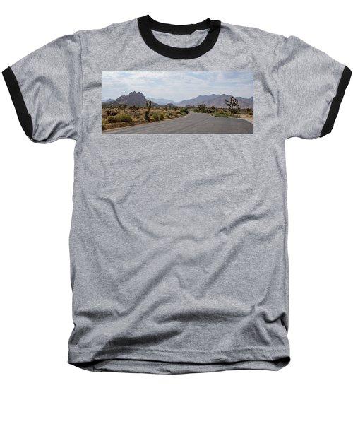 Driving Through Joshua Tree National Park Baseball T-Shirt