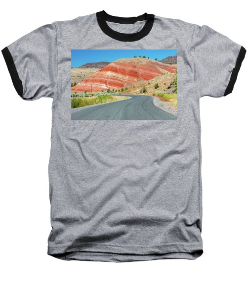 Baseball T-Shirt featuring the photograph Driving To Painted Hills by Pierre Leclerc Photography