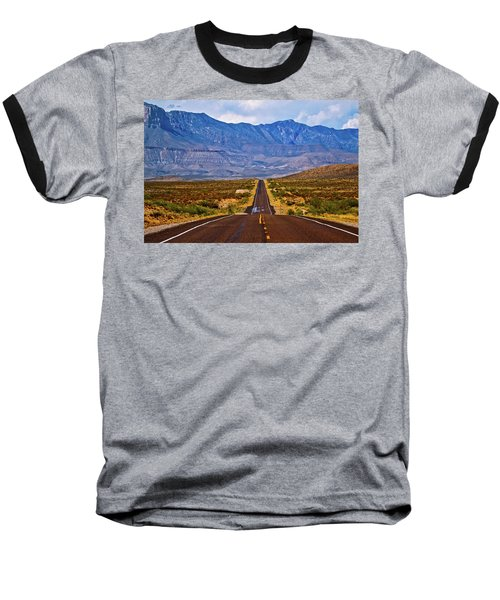 Driving To The Blue Baseball T-Shirt