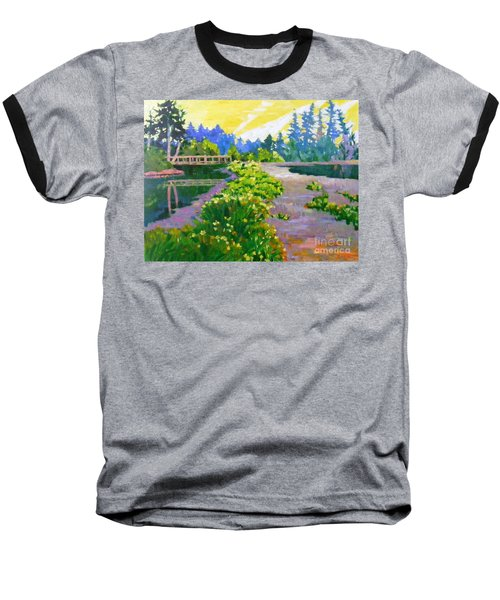 Drizzling Seaside Baseball T-Shirt