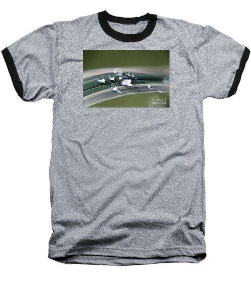 Baseball T-Shirt featuring the photograph Droplet Families  by Yumi Johnson