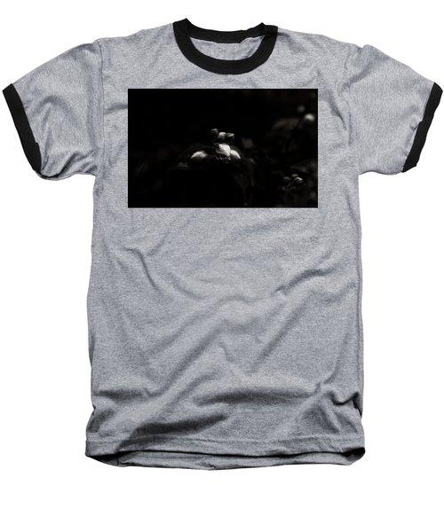 Droplets 7 Baseball T-Shirt by Cendrine Marrouat