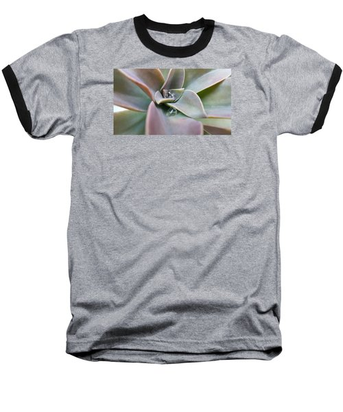 Droplets On Succulent Baseball T-Shirt