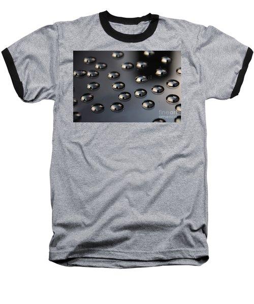 Drops Of Water -macro Baseball T-Shirt