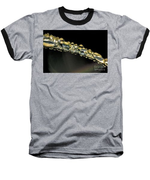 Drops On The Green Grass Baseball T-Shirt