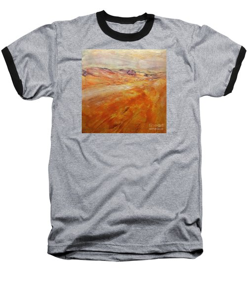 Baseball T-Shirt featuring the painting Drought by Dragica  Micki Fortuna