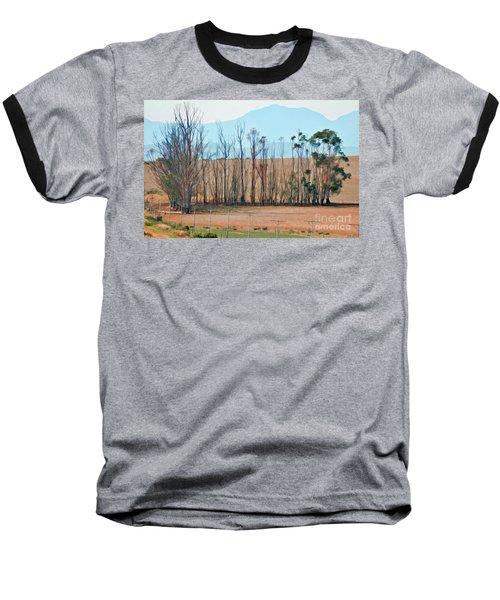 Drought-stricken South African Farmlands - 3 Of 3 Baseball T-Shirt