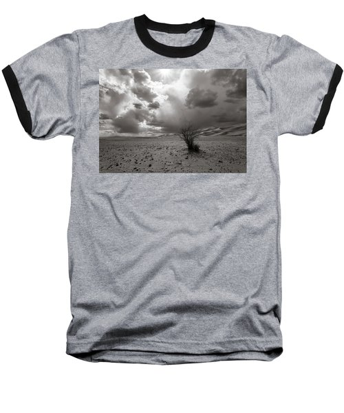 Baseball T-Shirt featuring the photograph Drowning On Dry Land by Alex Lapidus